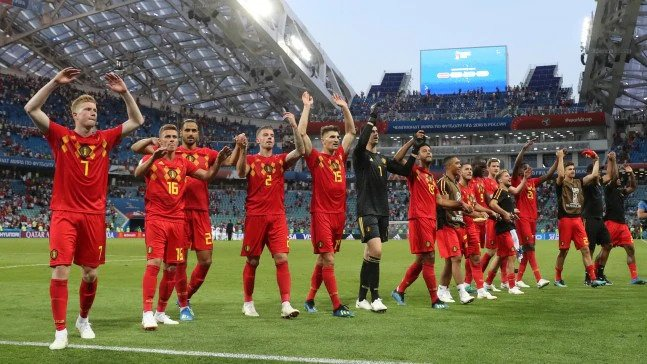 Belgium have not lost their last 10 games in the World Cup