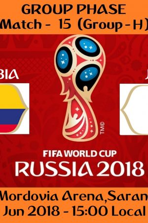 FIFA WORLD CUP 2018 MATCH - 15 - COLOMBIA vs JAPAN