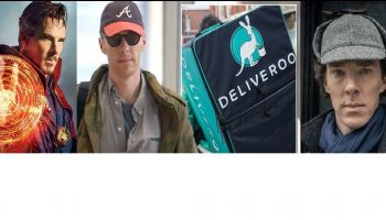 Benedict Cumberbatch Saves Deliveroo Cyclist in London - Hailed A Real Life Hero