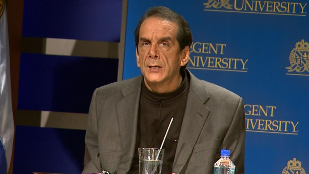 I Have Only a Few Weeks Left to Live: Charles Krauthammer
