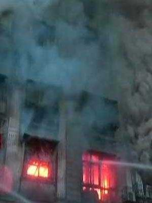 Gigantic Fire Breaks Out In Mumbai's Fort Area, 2 Firefighters Injured