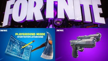 Fortnite Update: New Playground Mode