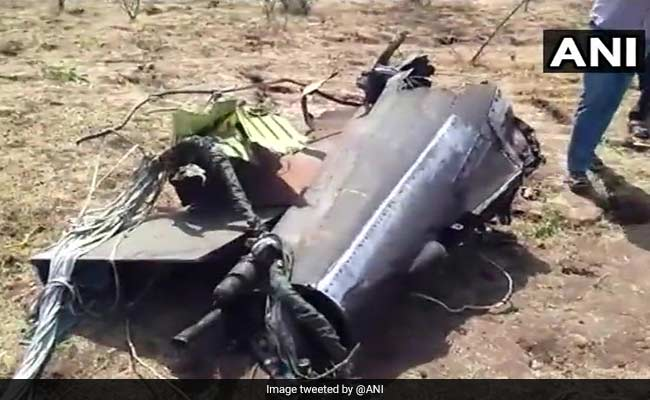The parts of the IAF's Jaguar bomber that crashed in Gujarat