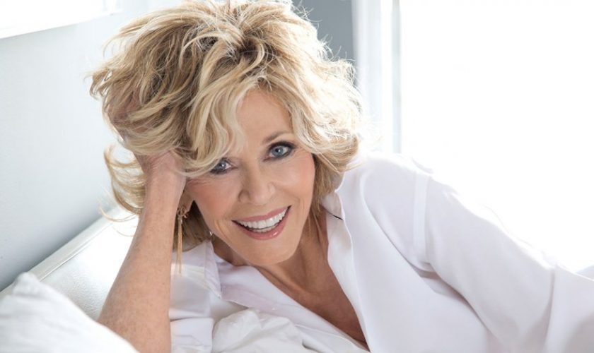 Jane Fonda on the way to honor with Lifetime Achievement Award:Michael Moore