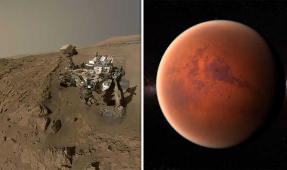 MARS STORY: Organic Matter on Mars According to NASA's Curiosity Rover