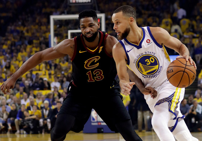 NBA Finals - Game 1: Warriors beat Cavaliers in Overtime