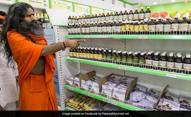 Patanjali sells a range of consumer products that it claims to be based on Ayurveda.