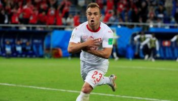 World Cup 2018: Switzerland fight against eminent loss to beat Serbia 2-1