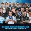 Soccer Aid 2018: Info Updates