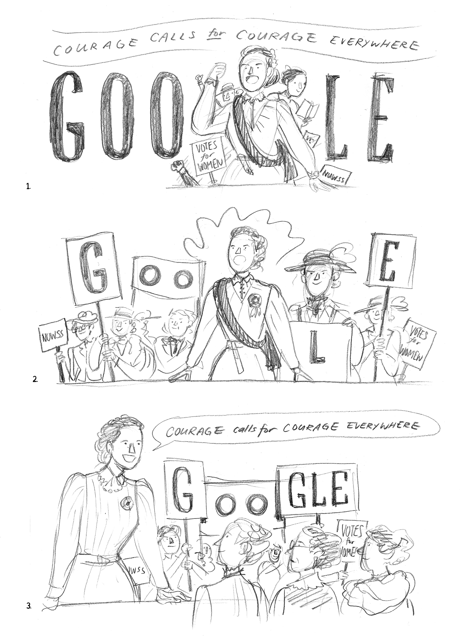 Millicent Fawcett Celebrated with Google Doodle