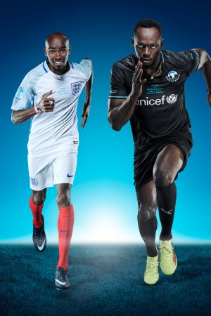 SOCCER AID 2018 - STAR-STUDDED TEAM