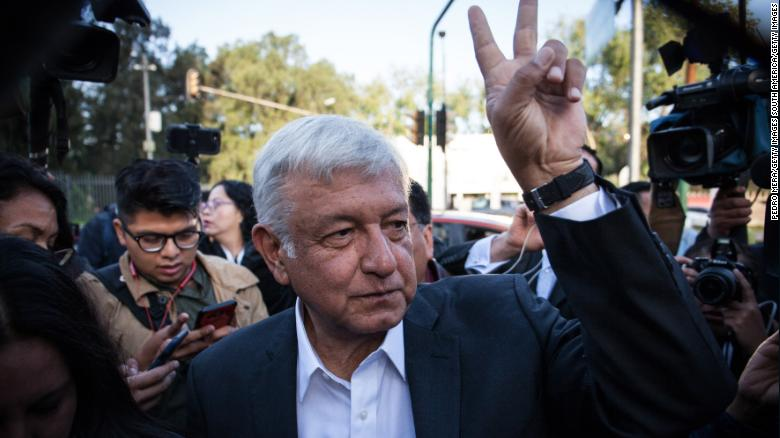 Mexico Elects Leftist Andrés Manuel López Obrador Claims Win in Presidential Vote