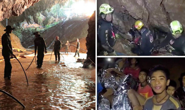 The Second Phase of Thai Cave Rescue Underway - 4 are Out, 9 to Go