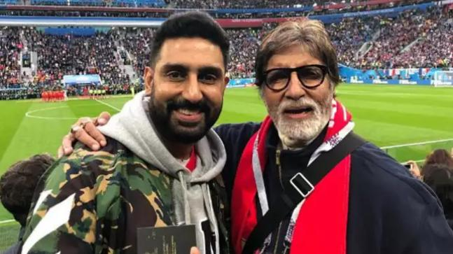 Mukesh Ambani, Amitabh Bachchan spotted at World Cup 2018 elimination rounds