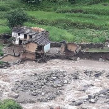 Deluge in Chamoli area, numerous houses, shops washed away