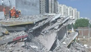Greater Noida building breakdown: Builder reserved for chargeable crime