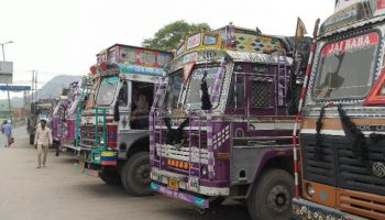 Transport association goes on across the nation strike over diesel costs, e-Way charge