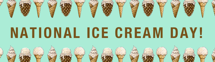 National Ice Cream Day Celebration - Free Ice Cream and Lots of Deals Today