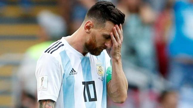 World Cup 2018 mortification finishes Lionel Messi awfulness