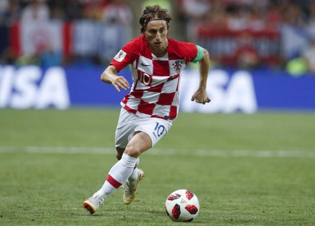 Luka Modric has starred in Croatia's 2018 FIFA World Cup campaign