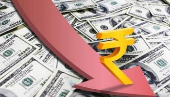 Rupee proceeds with fall, hits life-time low of 69.13