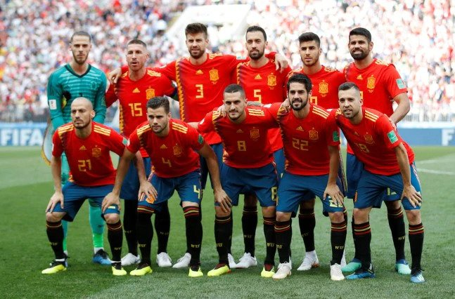 Spain were knocked out in the round-of-16 of the 2018 FIFA World Cup in Russia
