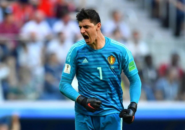 Thibaut Courtois made 27 saves in this year's World Cup