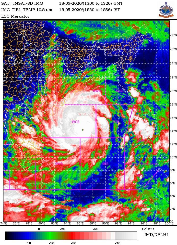 Cyclone AMPHAN latest update