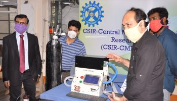 CSIR CMERI Durgapur develops Mechanical Ventilator