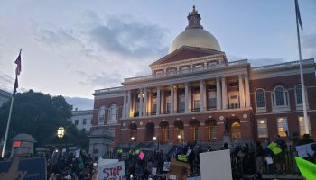 Boston Protest to State House