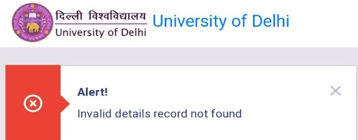 Glitches were reported in registration system for DU OBE online mock tests