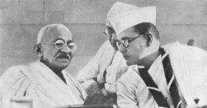 Bose_Gandhi_1938 -Netajis Political Career