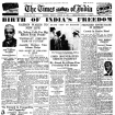 Newspaper Headlines Of 10 Iconic Events In India's HistoryNewspaper Headlines Of 10 Iconic Events In India's History