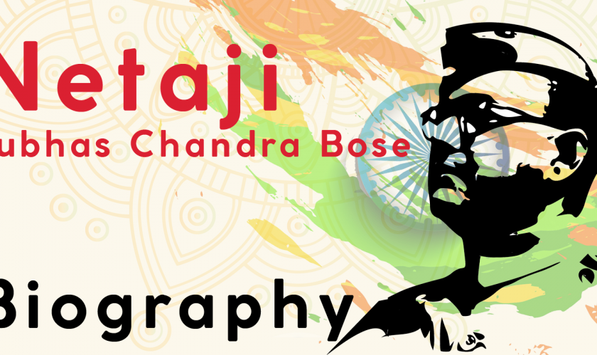 Netaji subhas Chandra Bose-Biography