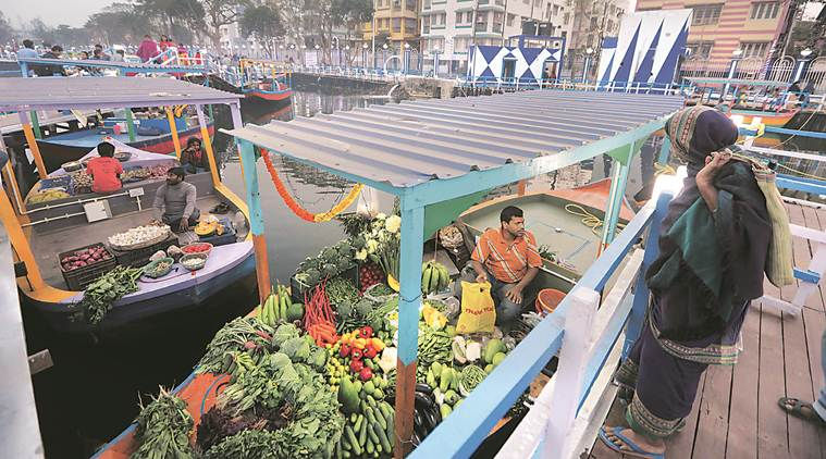 India's first Floating business sector opens in Kolkata