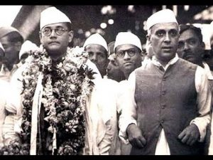 Netaji with Nehru