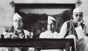 Netaji-Nehru