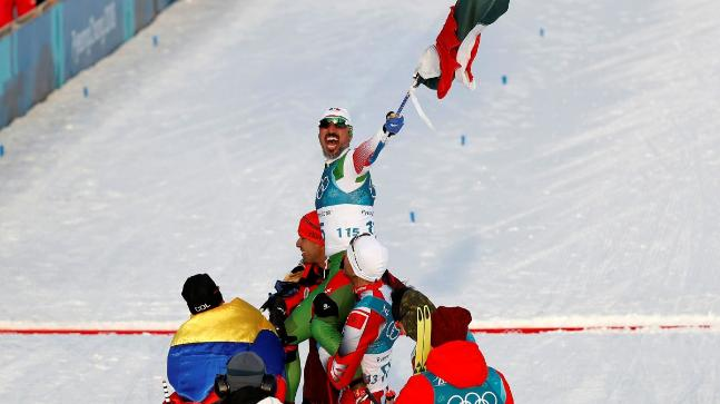 Winter Olympics 2018: German Madrazo wins hearts in spite of completing toward the end in men's skiing