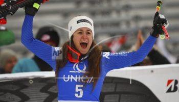 Winter Olympics: Italy's Sofia Goggia Wins Olympic Downhill, Lindsey Vonn Third