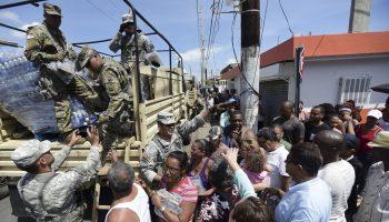 HURRICANE HAZARD AT PUERTO RICO