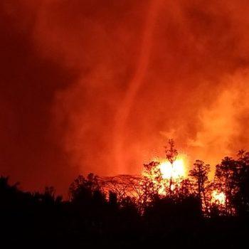 Hawaii Volcano - Advancing Rapidly