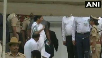 Mamata Banerjee loses cool in the wake of being compelled to walk, hammers Karnataka DGP