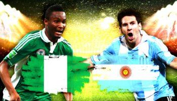 Nigeria against Messi and Argentina