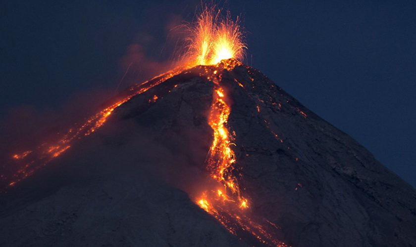 Guatemala Volcano Update - Fuego Volcano Erupts