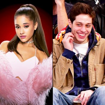 Engagement Celebration: Ariana Grande and Pete Davidson at Disneyland