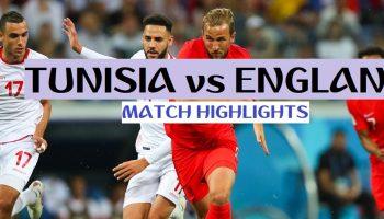 FIFA World Cup 2018 Highlights: Tunisia vs England