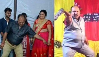 Dancing Uncle Professor Sanjeev Srivastava - Guru Govinda