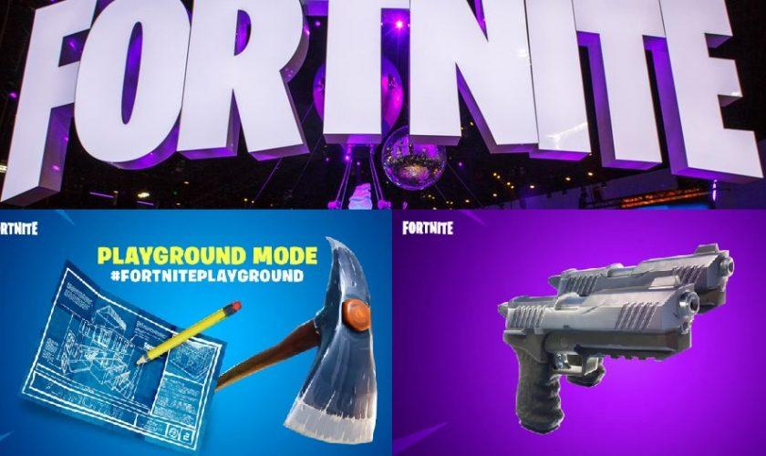 Fortnite Update: New Playground Mode