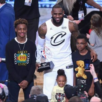 LEBRON IS SHOCKED His Son's Dunk Attempt