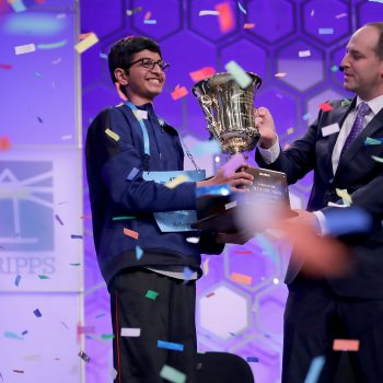2018 Scripps National Spelling Bee Champion Karthik Nemmani